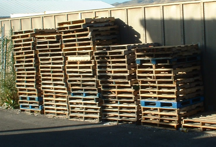 used wooden pallets  in dubai 2