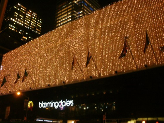 Bloomingdale's NYC store front