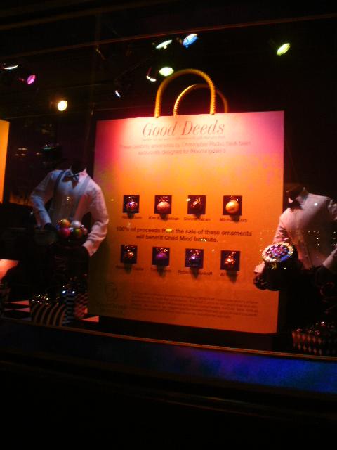 Bloomingdale's 2011 window displays