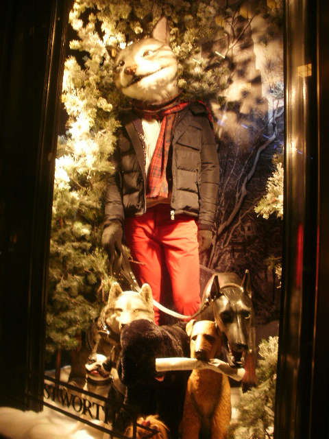 Bergdorf Goodman 2011 Holiday Windows