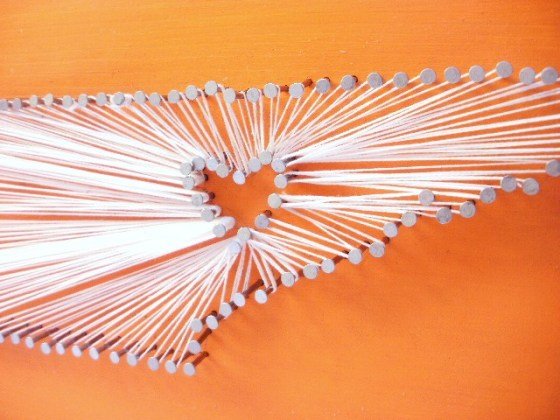 tennesse string art nail