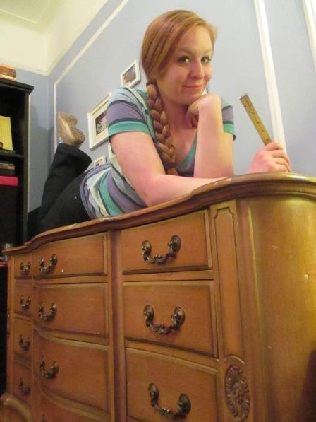 dresser boudoir shot
